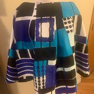 Lane Bryant multi colored skirt